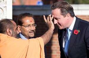 'David Cameron! David Cameron!'