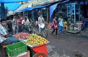 Shops get opened after curfew was relaxed from 6 am to 12 noon in tension-gripped Golaghat.