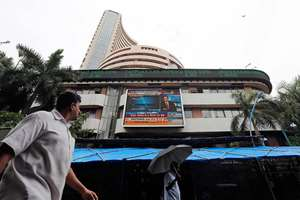 File Photo: The benchmark BSE Sensex dipped below the 27k-level by falling over 166 points in early trade.