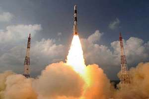 India's maiden Mars mission was on course to reach the Red Planet's orbit on that could create history when the spacecraft's main engine was successfully fired in the first test of its last crucial manoeuvre in search for evidence of life.