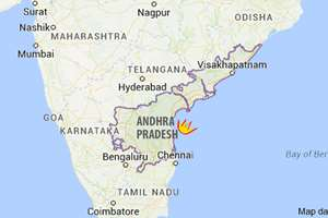 Eleven people were killed and seven others seriously injured in an explosion at a fire cracker manufacturing unit at Vakatippa village in coastal East Godavari district, in Andhra Pradesh.