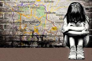 A three-year-old girl studying in nursery class sexually abused, in Bangalore