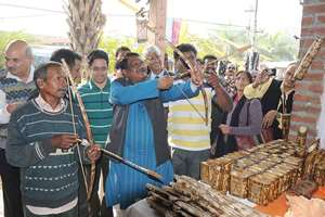 The Union Minister for Tribal Affairs, Jual Oram inaugurated the National Tribal Crafts Mela Aadishilp, in New Delhi.