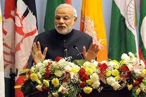 Prime Minister, Narendra Modi addressing the inaugural session of the 18th SAARC Summit, in Kathmandu, Nepal.