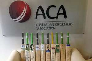 Australian Cricketers' Association posted 10 bats in their tribute picture for Phillip Hughes. Cricketers and fans around the world have been paying tribute to Phillip Hughes via a social media campaign by leaving their cricket bats out and sharing a picture with the message #putoutyourbats on Twitter.