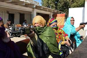 Teachers in Khyber Pakhtunkhwa province are being given firearms training and will be allowed to take guns into the classroom in a bid to strengthen security following a Taliban massacre at a school last month.