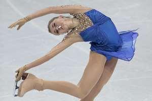 Elena Radionova, of Russia, skates during her free program at the European Figure Skating championships in Stockholm, Sweden.