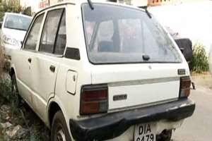 The first ever Maruti 800 to be sold in India on December 4, 1983, now lies unused for over a year in Delhi's posh Green Park, in New Delhi.