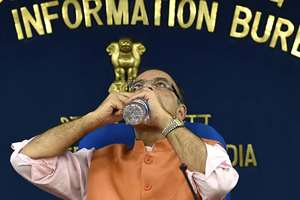 Union Finance Minister Arun Jaitley during a press conference regarding cabinet decisions at Shastri Bhawan, in New Delhi.