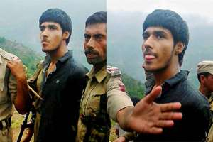 Militant 'identified' as Kasim Khan from Pakistan caught alive after attack on BSF convoy in Udhumpur.