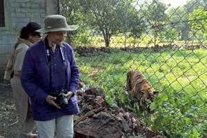 Veteran Bollywood actress Waheeda Rehman visit Vanvihar National park in Bhopal, Madhya Pradesh.