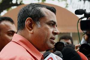 BJP MP Paresh Rawal addresses to media as he arrives for the first day of winter session of  Parliament in New Delhi.