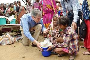 Not Ice But Rice Bucket Challenge for the German Ambassador